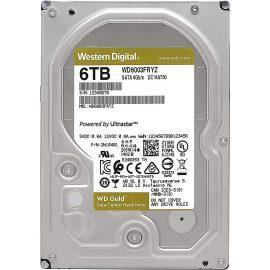 Ổ Cứng Desktop WD HDD Gold 6TB WD6003FRYZ – Hàng Chính Hãng