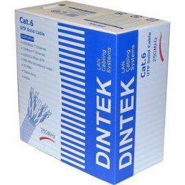 Cáp mạng DINTEK CAT.6 S-FTP, 4 pair, 23 AWG 305mbox