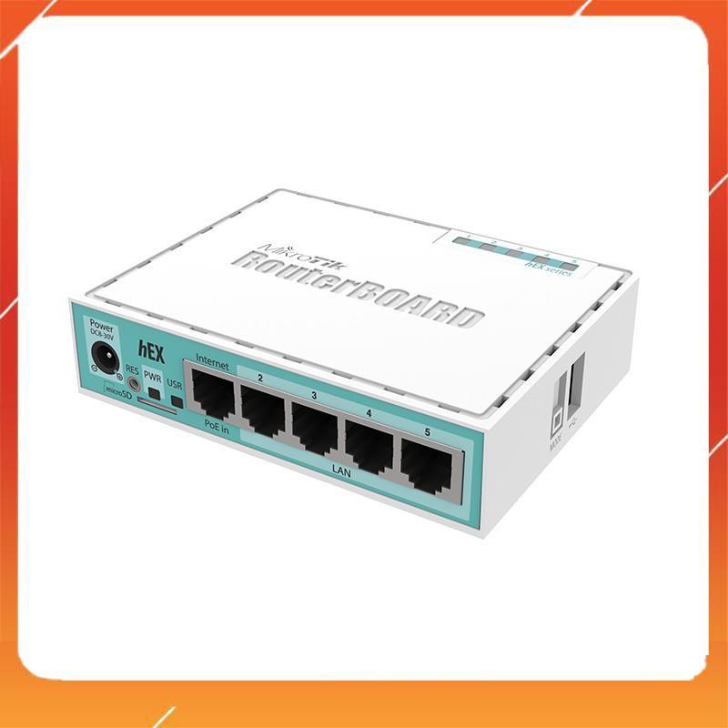 Thiết bị Router Mikrotik RB750Gr3 – NEW FULLBOX – BH 12 tháng