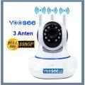 Camera IP WIFI trong nhà YooSee 3.0 New 2020 ( 3 anten Full HD 1080P) – Hàng chính hãng