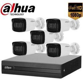 Trọn gói Camera Văn phòng 02 – 5 camera Dahua (2MP)