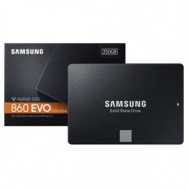 Ổ Cứng SSD Samsung 860 EVO 250GB 2.5 inch SATA iii MZ-76E250BW – Hàng Nhập Khẩu