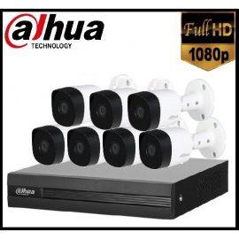 Trọn gói Camera Gia đình 02 – 7 camera Dahua (2MP)
