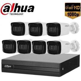 Trọn gói Camera Văn phòng 02 – 7 camera Dahua (2MP)
