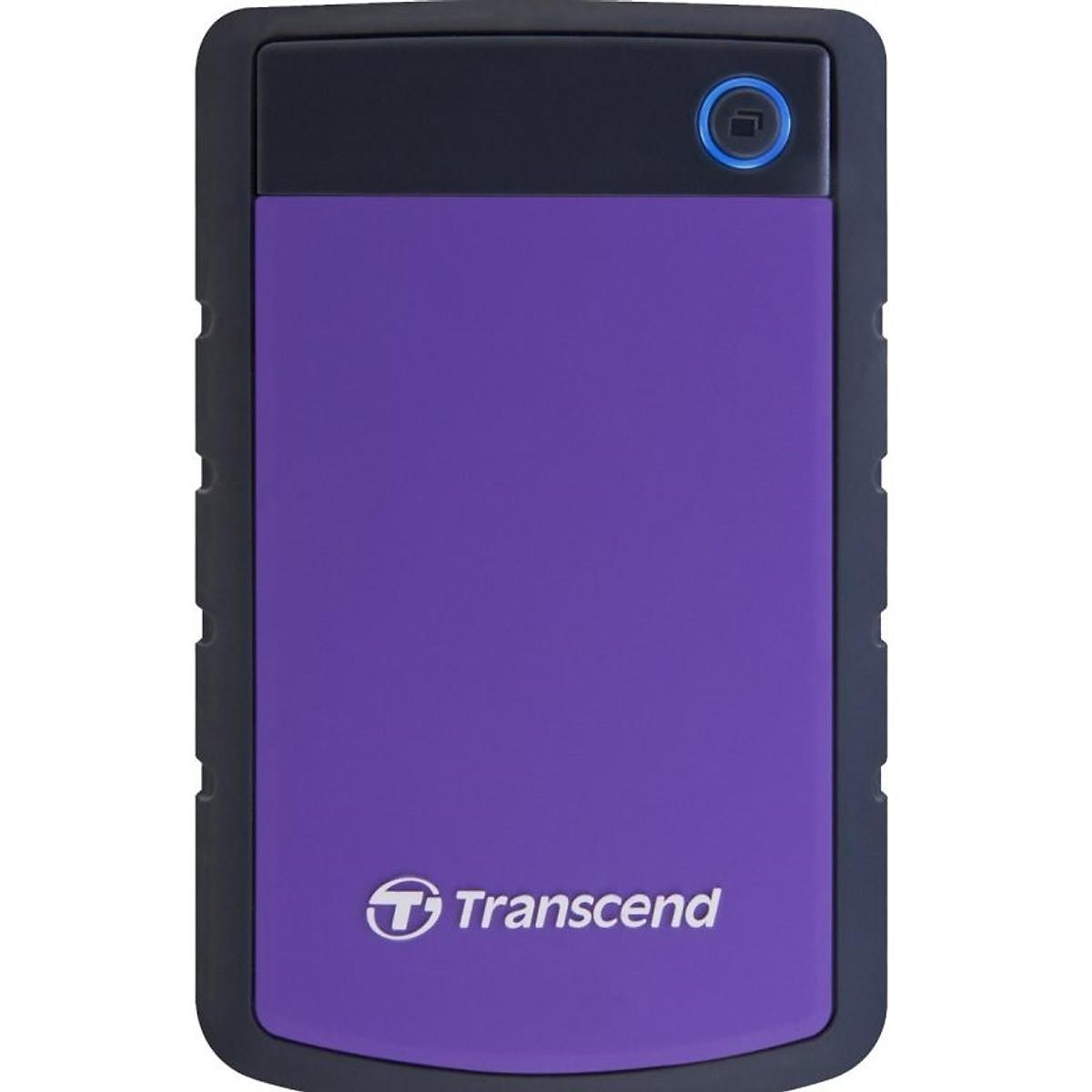 Ổ Cứng Di Động Transcend StoreJet H3P 1TB USB 3.0/3.1 – TS1TSJ25H3P – Hàng Chính Hãng