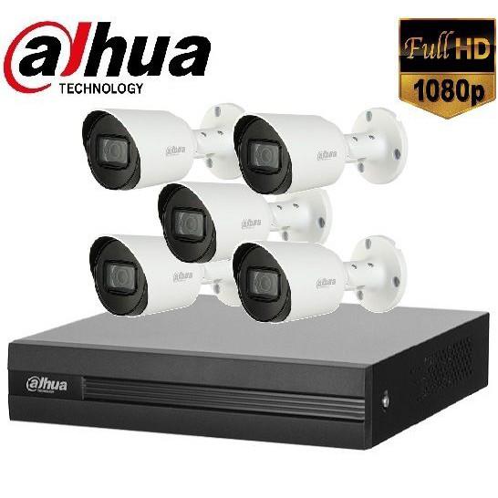 Trọn gói Camera Văn phòng 01 – 5 camera Dahua (2MP)