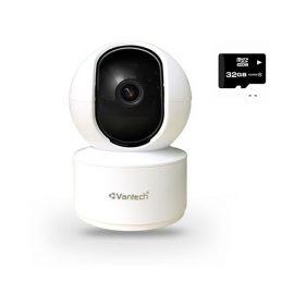 Camera VanTech WIFIV-2010AI-2.0MP – Hàng Chính Hãng (Tặng kèm thẻ nhớ 32Gb)