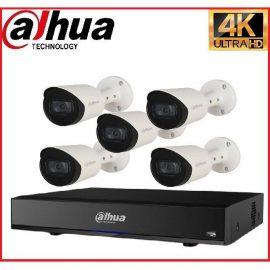 Trọn gói Camera Cao cấp 4K 02 – 5 camera Dahua (8MP)
