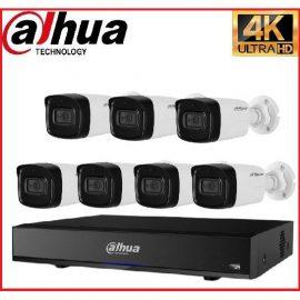 Trọn gói Camera Cao cấp 4K 01 – 7 camera Dahua (8MP)