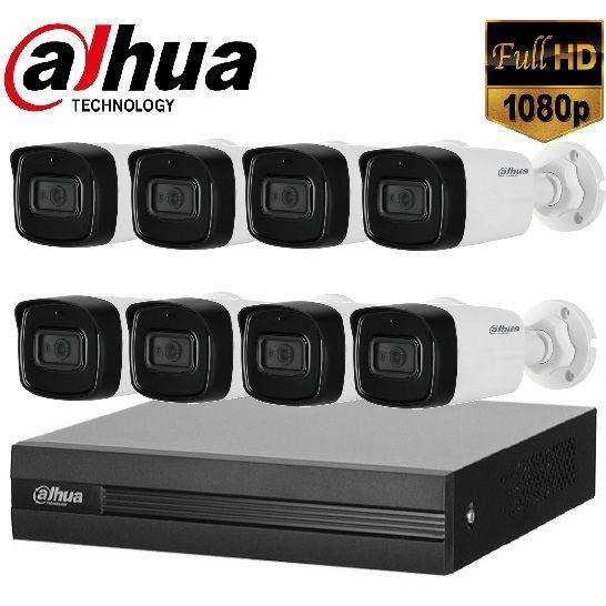 Trọn gói Camera Văn phòng 02 – 8 camera Dahua (2MP)
