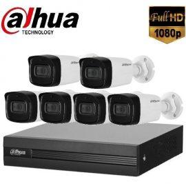 Trọn gói Camera Văn phòng 02 – 6 camera Dahua (2MP)