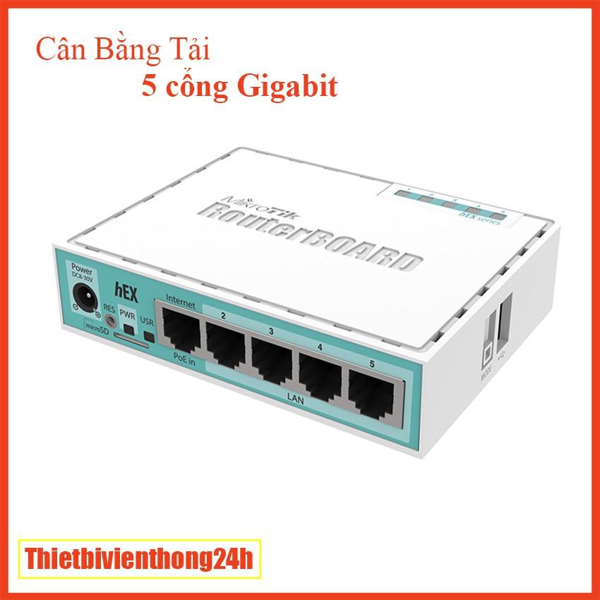 Router Mikrotik RB750Gr3 – 5 cổng Gigabit