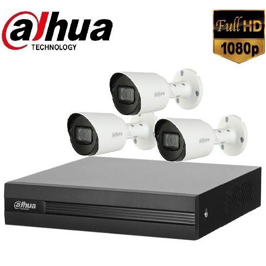 Trọn gói Camera Văn phòng 01 – 3 camera Dahua (2MP)