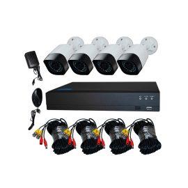 Bộ Kit Camera AHD 2.0Mp Full HD – Trọn Bộ Camera AHD 4 Kênh + Kèm Ổ Cứng 500GB