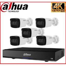 Trọn gói Camera Cao cấp 4K 01 – 5 camera Dahua (8MP)