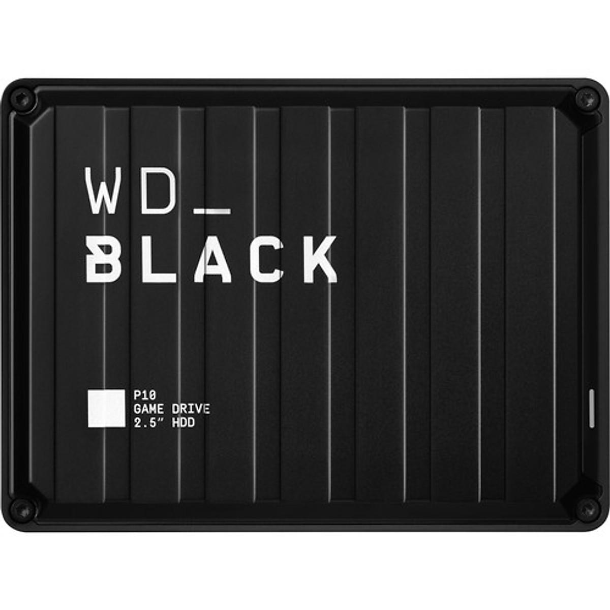"""Ổ Cứng Di Động WD Black P10 Game Drive 2.5"""" USB 3.2 – Hàng Chính Hãng"""