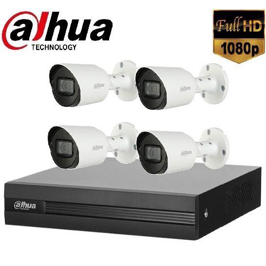 Trọn gói Camera Văn phòng 01 – 4 camera Dahua (2MP)
