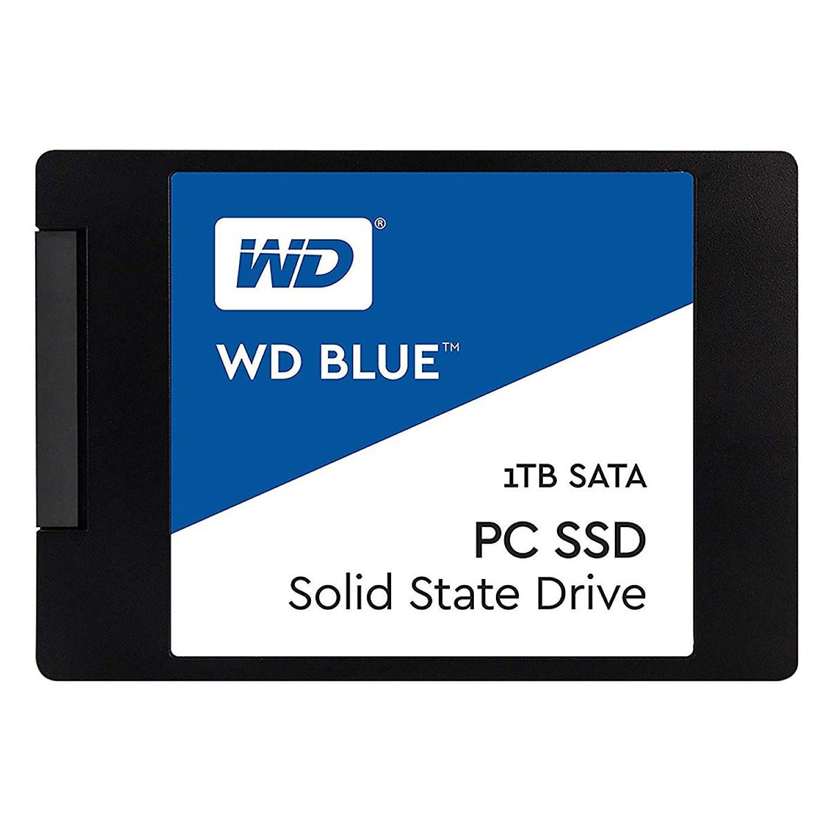 Ổ Cứng SSD WD Blue 3D NAND WDS100T2B0A 1TB Sata III 2.5 inch – Hàng Nhập Khẩu