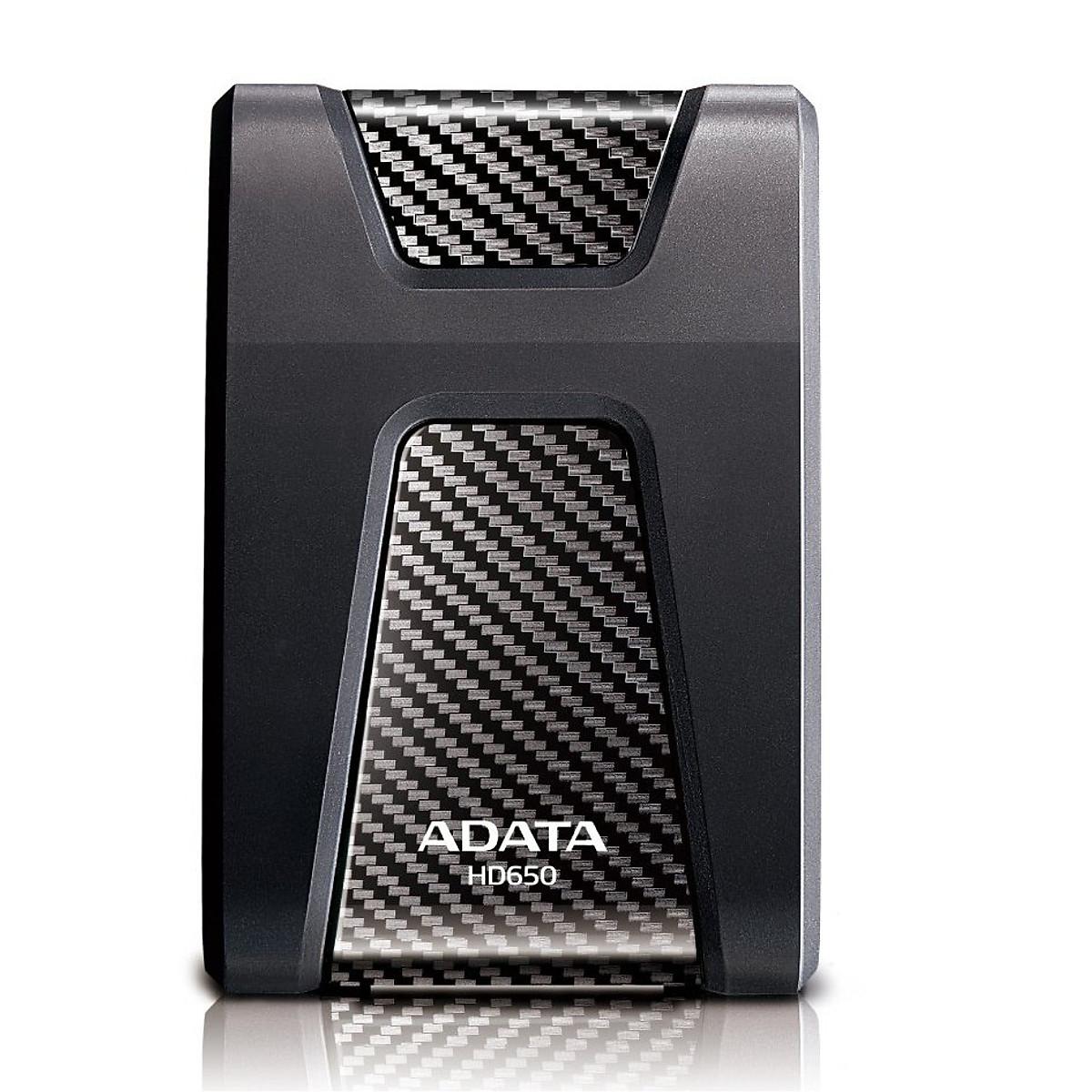 Ổ Cứng Di Động ADATA HD650 1TB – USB 3.0 – Hàng Chính Hãng