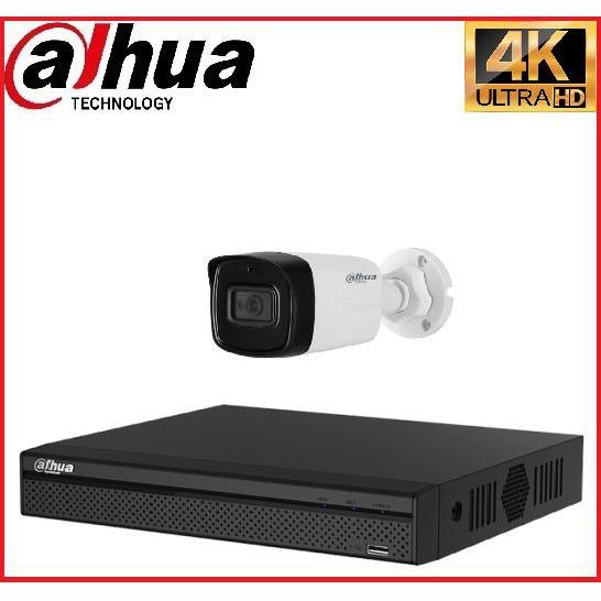 Trọn gói Camera Cao cấp 4K 01 – 1 camera Dahua (8MP)