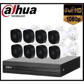 Trọn gói Camera Gia đình 02 – 8 camera Dahua (2MP)