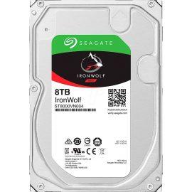 Ổ Cứng HDD NAS Storage Seagate IronWolf 8TB/256MB/3.5 7200RPM – ST8000VN004 – Hàng Chính Hãng