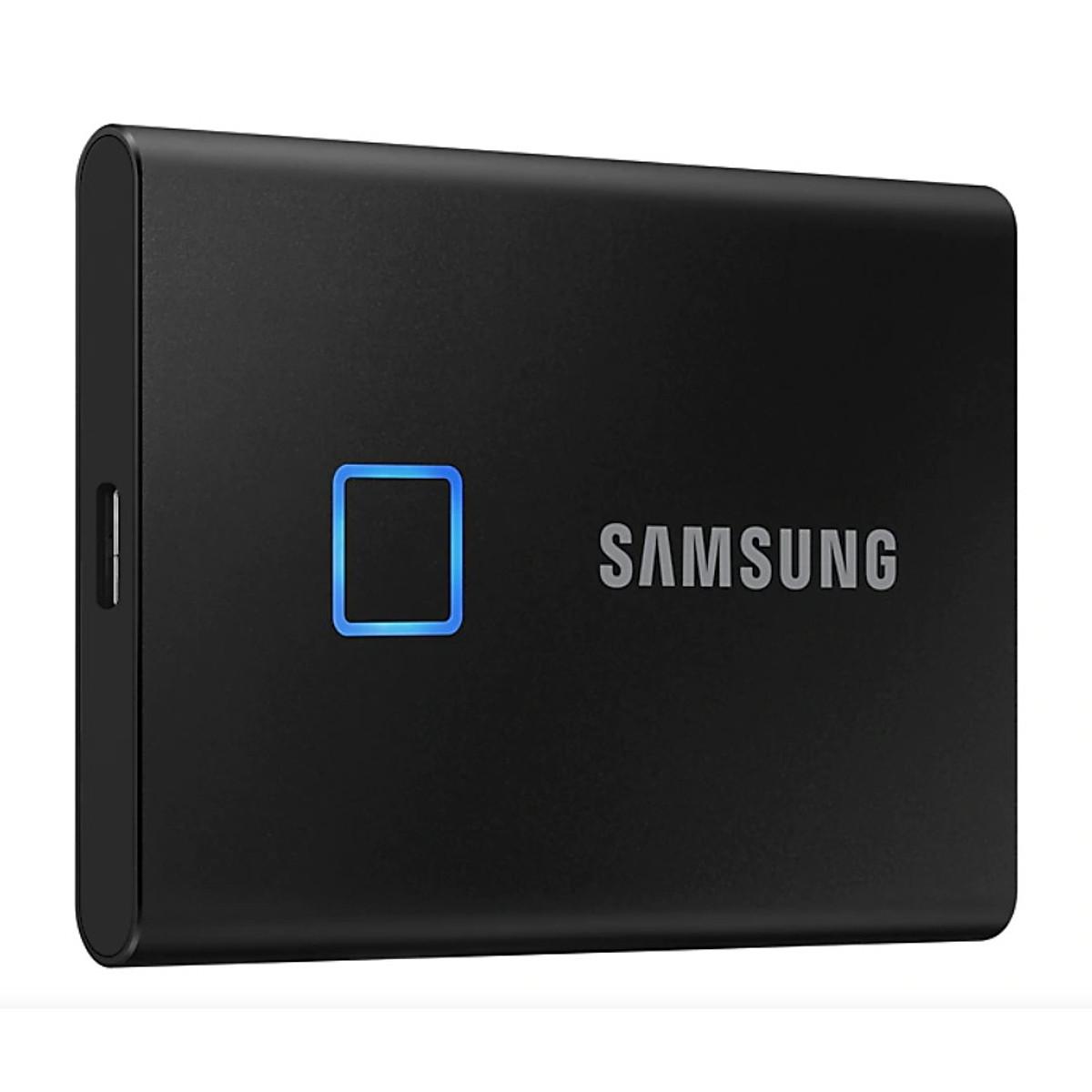 Ổ Cứng Di Động Samsung Portable SSD T7 Touch 500GB MU-PC500 – Hàng Chính Hãng