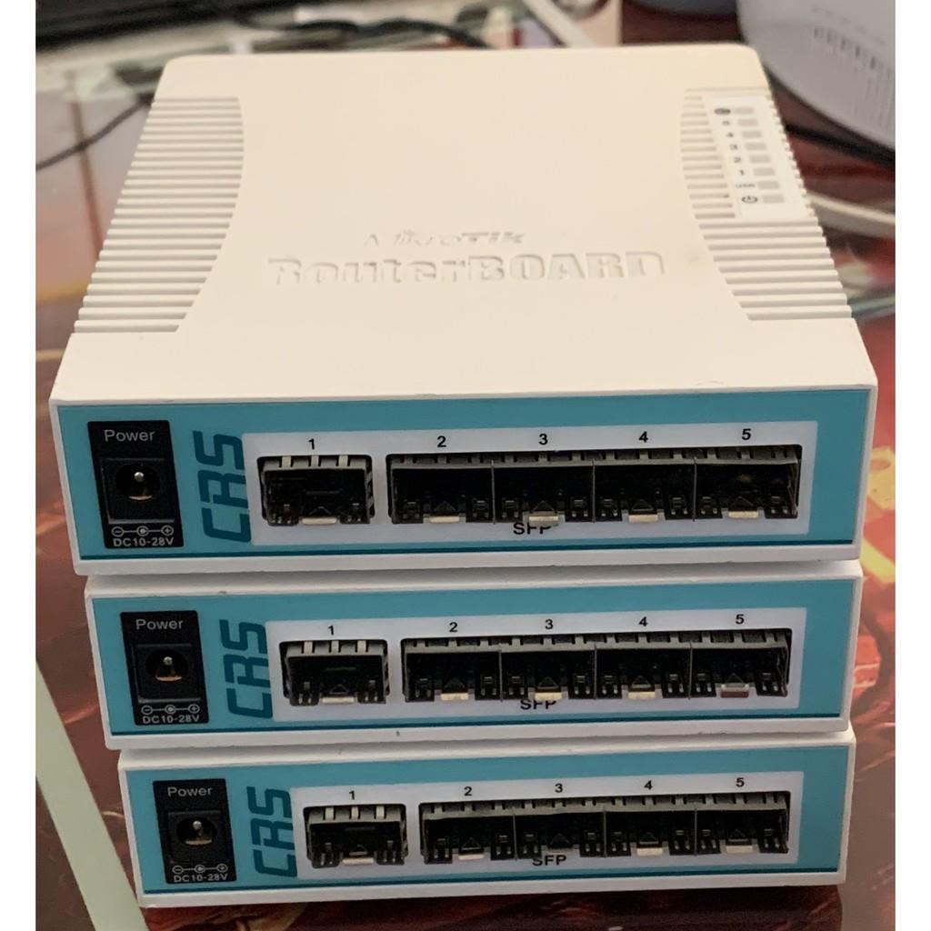 Bộ Chia Mạng Mikrotik Cloud Router Switch CRS106-1C-5S