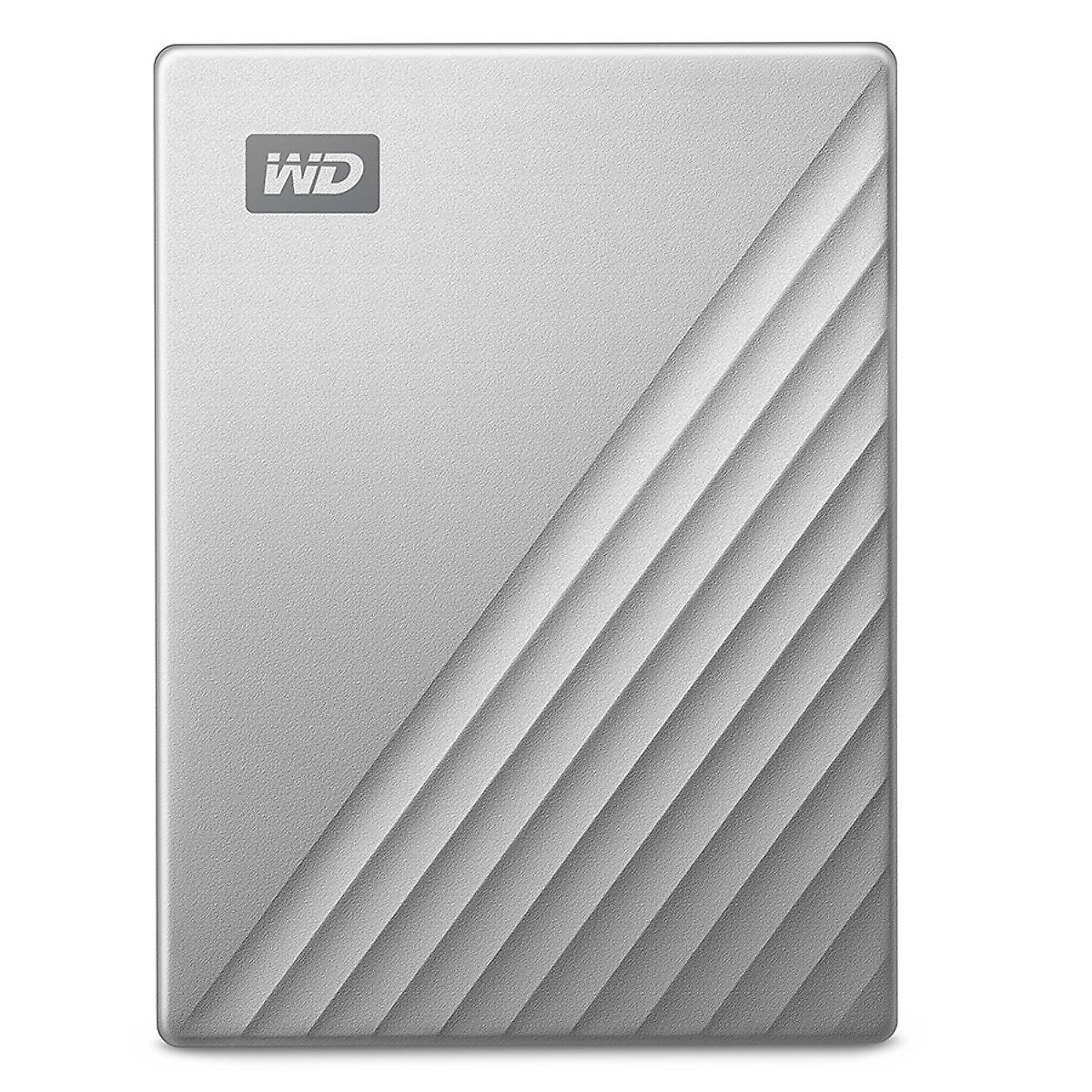 Ổ Cứng Di Động WD My Passport Ultra 4TB USB Type C – Màu Bạc – Box Tiếng Anh –  Hàng Nhập Khẩu
