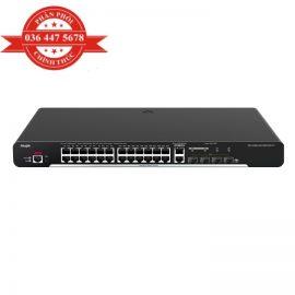 Bộ Chuyển Mạch 24 Cổng 10/100/1000 Base-T Managed Switch RUIJIE RG-S1920-24GT4SFP/2GT – Hàng Chính Hãng
