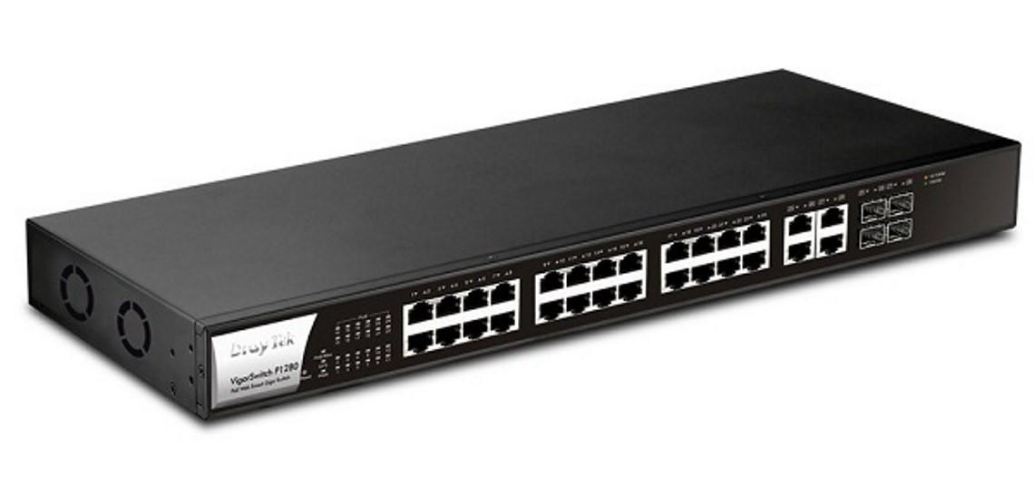 Thiết bị mạng Draytek Vigor Switch P1280