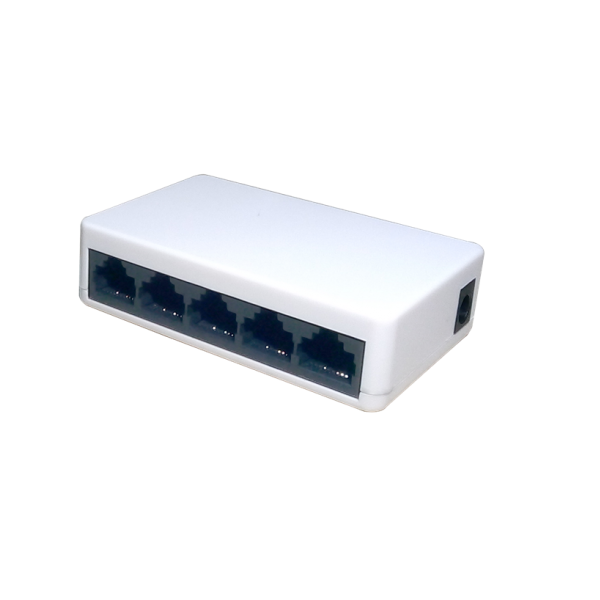 5-Port 10-100Mbps Unmanaged Switch Aptek SF500