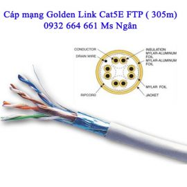 Cáp mạng Dintek Cat 5 FTP – Hàng chính hãng