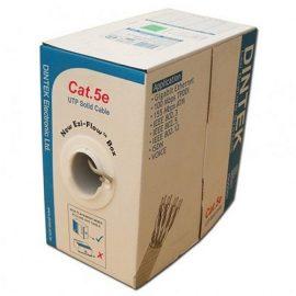 Cáp mạng DINTEK CAT.5e S-FTP, 4 pair, 24AWG 305mbox