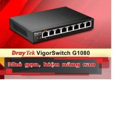 Bộ thu phát Wifi DrayTek VigorSwitch G1080