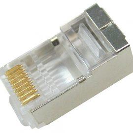 Đầu nối kim loại RJ-45 Dintek CAT.5e FTP Modular plug 1501-88054
