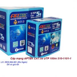 Cáp mạng APTEK CAT.5e UTP 100m 510-1101-1