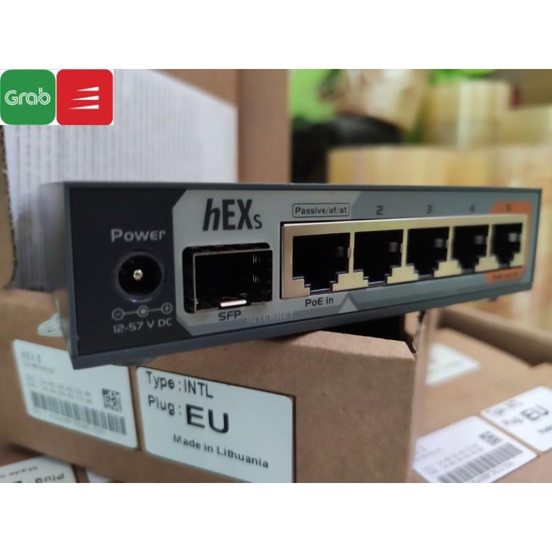 Mikrotik hEX S RB760iGS – Chính hãng, mới 100%