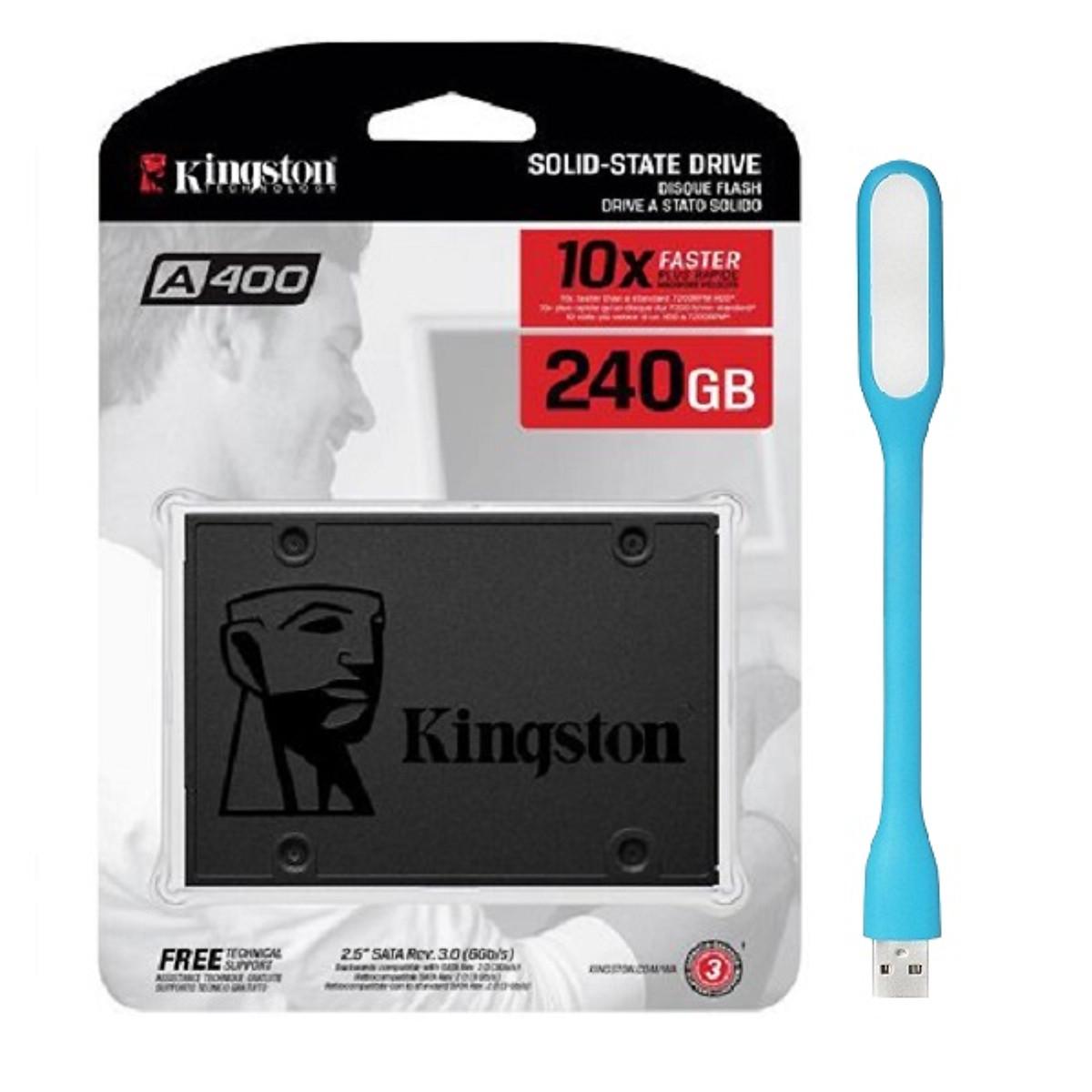 Ổ Cứng SSD Kingston A400 (240GB) – Hàng Chính Hãng + Tặng Đèn Led