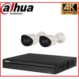 Trọn gói Camera Cao cấp 4K 02 – 2 camera Dahua (8MP)