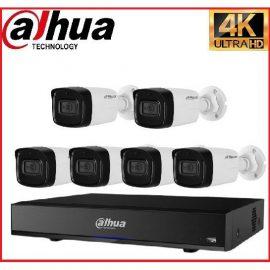 Trọn gói Camera Cao cấp 4K 01 – 6 camera Dahua (8MP)