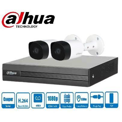 Trọn gói Camera Gia đình 01 – 2 camera Dahua (2MP)