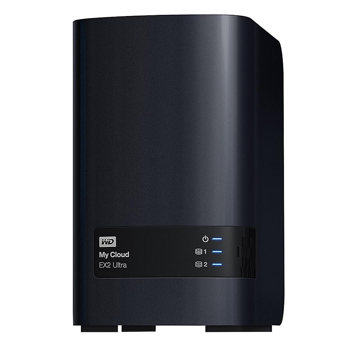 Ổ Cứng WD My Cloud EX2 Ultra  0TB WDBVBZ0000NCH-SESN Gigabit Ethernet – Hàng Chính Hãng