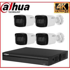 Trọn gói Camera Cao cấp 4K 01 – 4 camera Dahua (8MP)