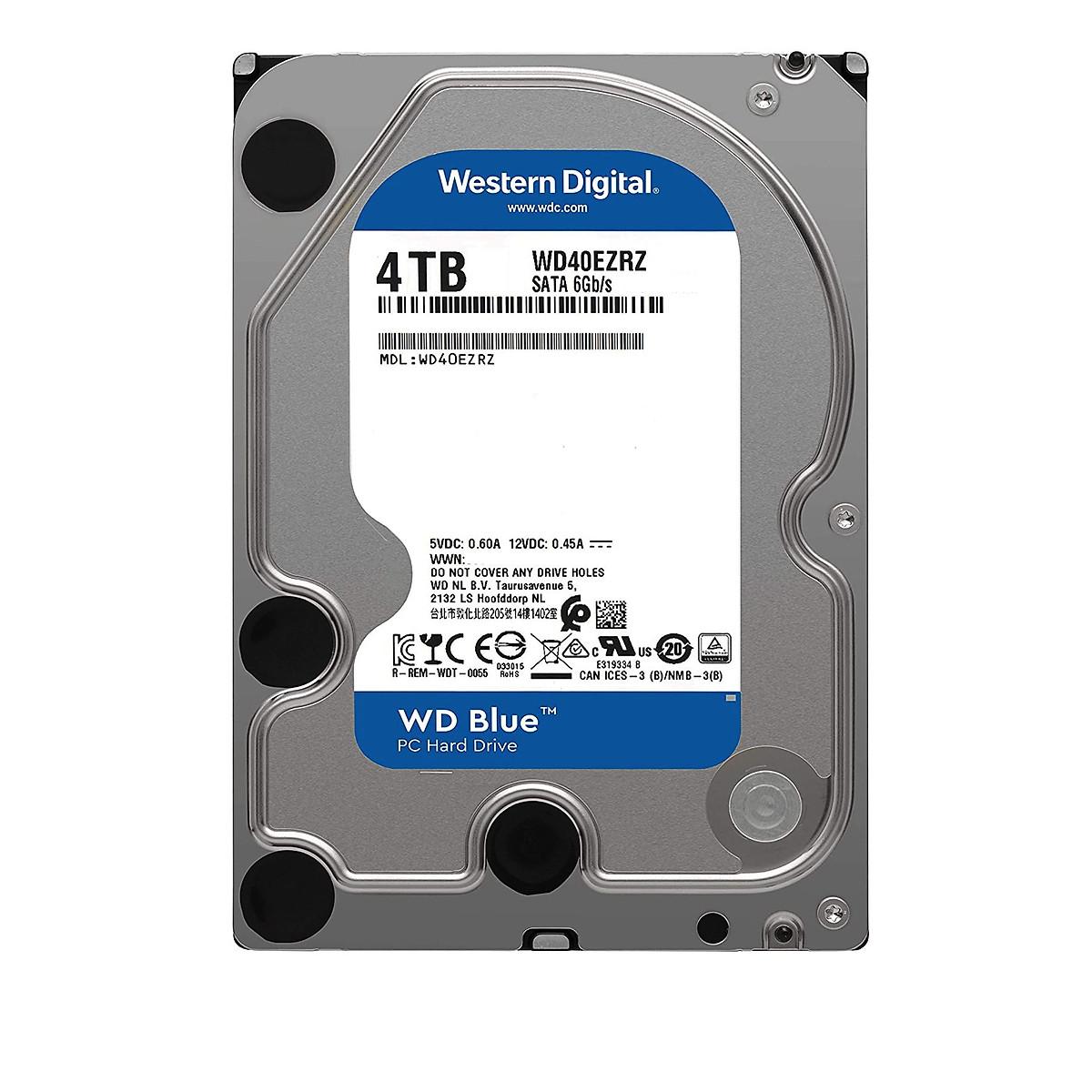 Ổ cứng gắn trong HDD Western Digital BLUE 4TB – Hàng nhập khẩu