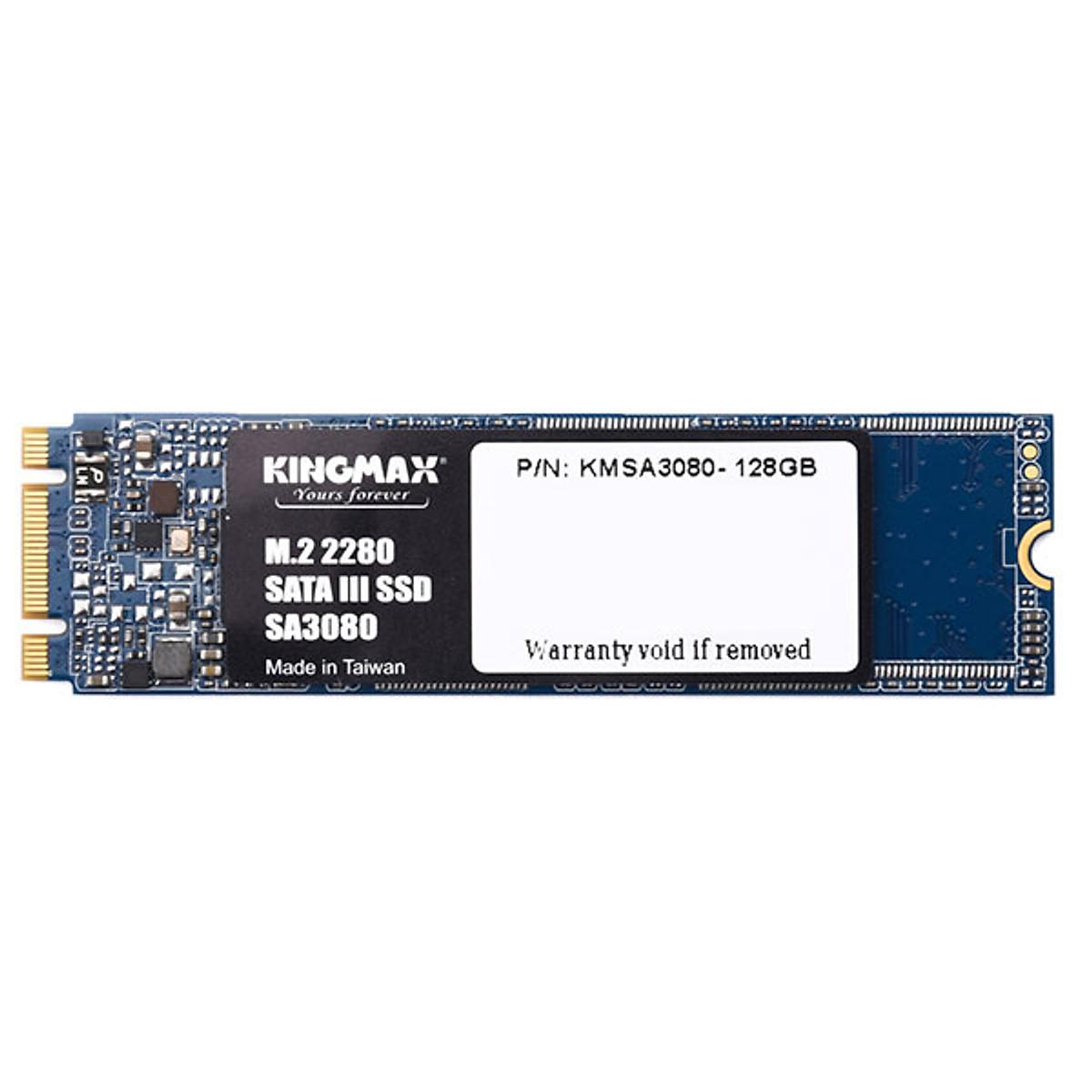 Ổ cứng SSD Kingmax SA3080 128GB M.2 2280 – Hàng Chính Hãng