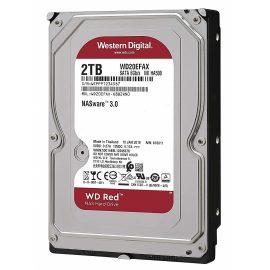 Ổ Cứng HDD NAS WD Red 2TB/265MB/5400/3.5 – WD20EFAX – Hàng chính hãng