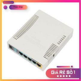 Router cân bằng tải, phát wifi Mikrotik RB951Ui-2HnD