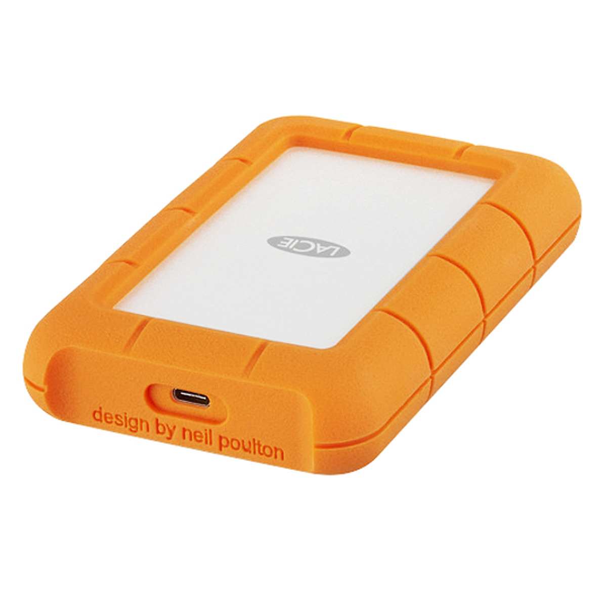 Ổ Cứng Gắn Ngoài Lacie STFR4000800 4TB USB 3.0 Type C – Hàng Chính Hãng