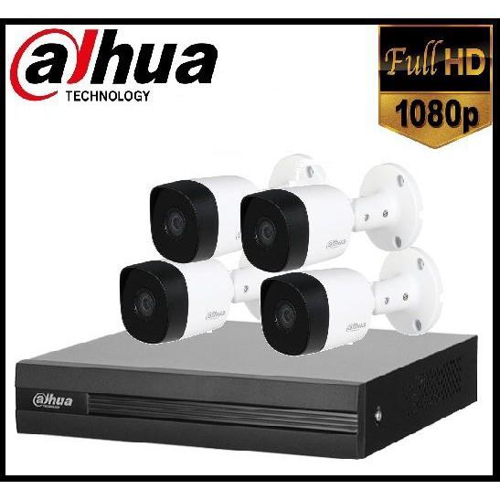 Trọn gói Camera Gia đình 02 – 4 camera Dahua (2MP)